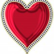 Stock Photo: Heart with jewels