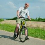 Man on bicycle — Stock Photo #1130494