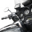 Royalty-Free Stock Photo: Top view of a luxurious motorcycle
