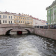 Stock Photo: Boat trip at St. Petersburg