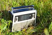 Old radio receiver — Stock Photo