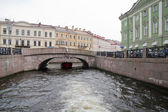 Boat trip at St. Petersburg — Stock Photo