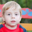 Portrait or young boy — Stock Photo