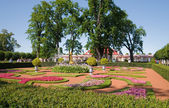 Down park at Peterhof — Stock Photo