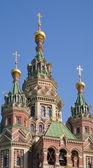Closeup Ortodoks Kilisesi — Stok fotoğraf