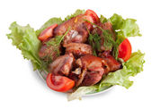Stewed meat — Stock Photo