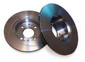 Auto circular plate — Stock Photo