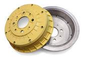 Car brake wheel — Stock Photo