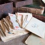 Vintage letters — Stock Photo