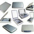 Set of scanners - Stock Photo