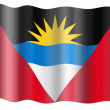 Royalty-Free Stock Photo: Flag of Antigua and Barbuda