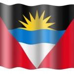 Flag of Antigua and Barbuda — Stock Photo #1195864