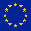 Flag or European Union — Stock Photo