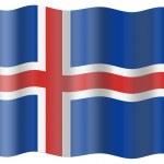 Iceland flag — Stock Photo #1197121