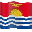 Royalty-Free Stock Photo: Flag of Kiribati