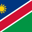 Flag of Namibia — Stockfoto
