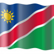 Flag of Namibia — Photo
