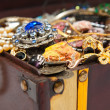 Closeup of Treasure chest - Stock Photo