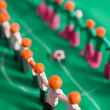 Stock Photo: Football teams from plasticine
