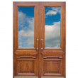 Wooden door — Stock Photo #2132804