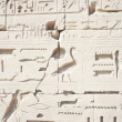 Hieroglyphic relief — Stock Photo #2139686