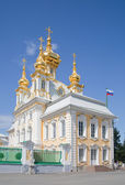 Part of royal Petrodvorets — Stock Photo