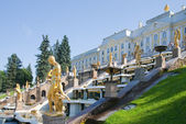 Royal Petrodvorets at Peterhof — Stock Photo