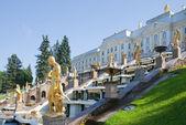 Royal Petrodvorets at Peterhof — Stock Photo