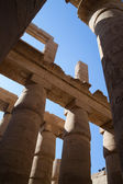 Columns of Karnak Temple — Stock Photo