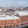 Top view of St. Petersburg - Stock Photo
