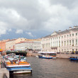 River channel in Saint-Petersburg - Stock Photo