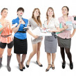 Stockfoto: Group of business women