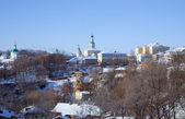 Down town of Vladimir city — Stock Photo