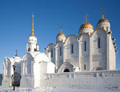 Assumption cathedral in Vladimir — Foto de Stock