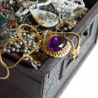 Treasure chest - Foto Stock
