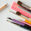 school supplies&quot — Stock Photo #2171249