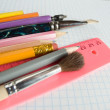 school supplies&quot — Stock Photo #2171502