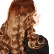 Long hair — Stockfoto