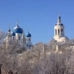 Orthodox monastery in Bogolubovo — Stock Photo