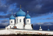 Ortodox monastery in Bogolubovo. Russia — Stock Photo