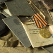 Army documents - Stock Photo
