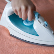 Electric iron - Stock Photo