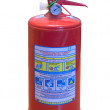Fire extinguisher cylinder - Stock Photo