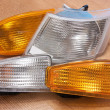 Постер, плакат: Automobile headlamp