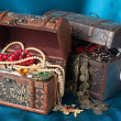 Treasure chests — 图库照片