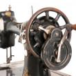 Antique sewing machine close-up — Stock Photo