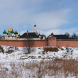 Monastery-fortress at Suzdal — Stock Photo
