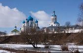 Monastery in Bogolubovo — Stock Photo