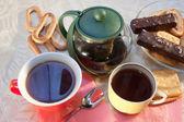 Caps of tea — Stock Photo
