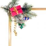クリスマスの罫線 — 图库照片